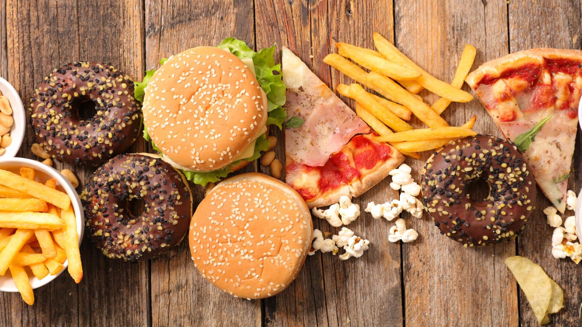 Фото нездоровой пищи — img 4