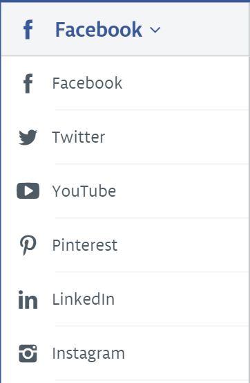 how to keep track of all social media